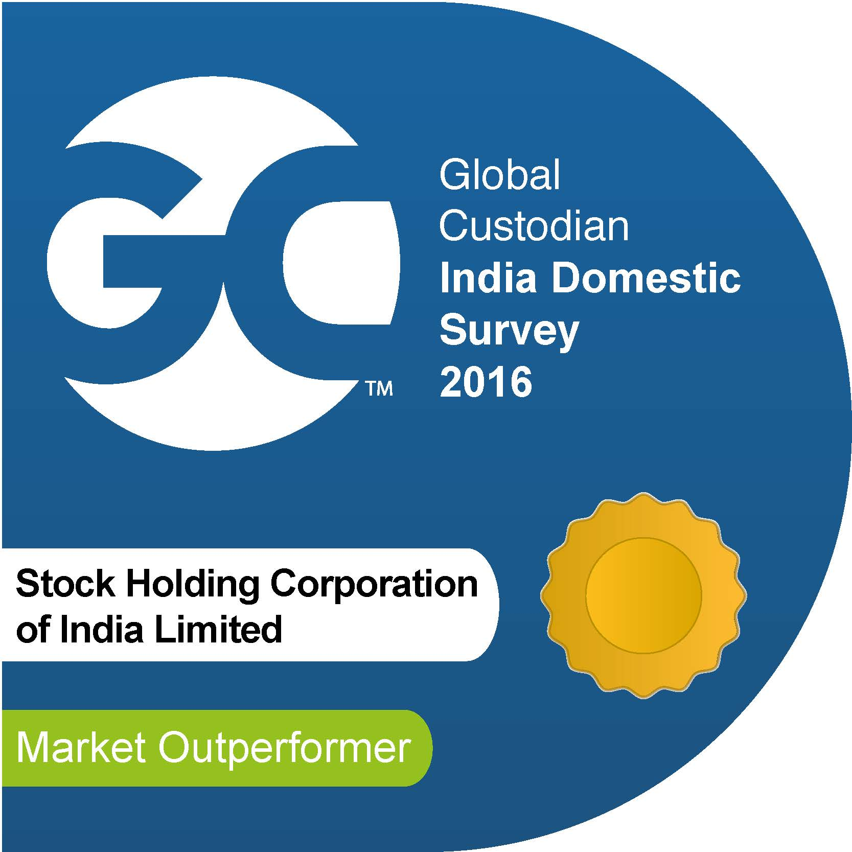 StockHolding Corporation Of India Limited MaO BEST CUSTODIAN BUSINESS EXCELLENCE