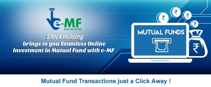 Mutual Fund Online | Stock Holding Corporation of India Limited